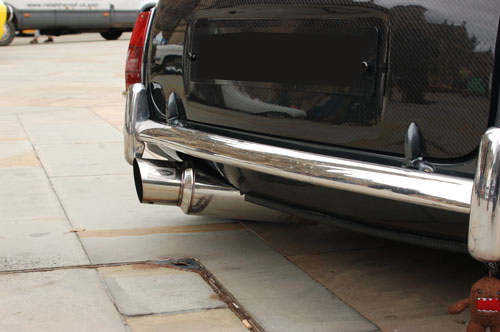 mini big bore exhaust stainless
