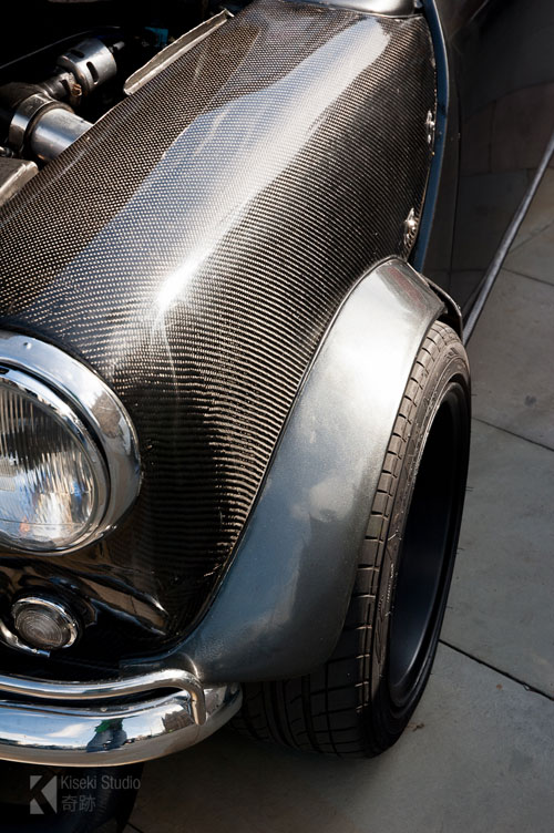 mini carbon fiber front end