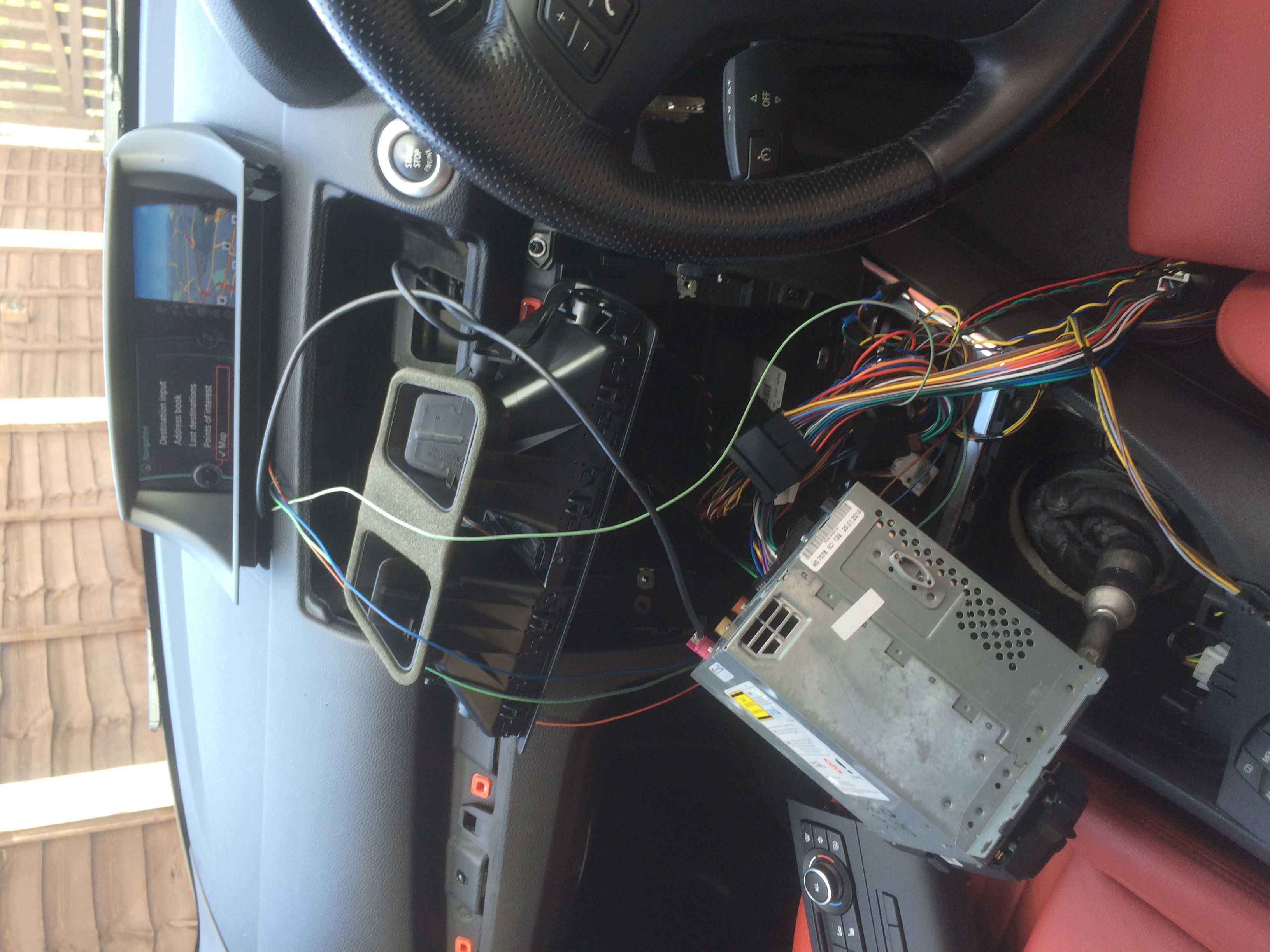 Retrofit CIC iDrive into non-idrive E82/E88 - James Fawcett