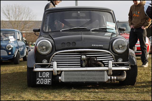 vtec turbo honda mini front